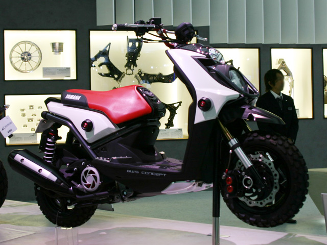 MOTORCYCLE MODIFICATION | Yamaha BWS Concept Design